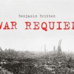 Poster for BCCO performance of Benjamin Britten's War Requiem, by Kris Kargo