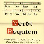 Verdi Requiem through the Ages