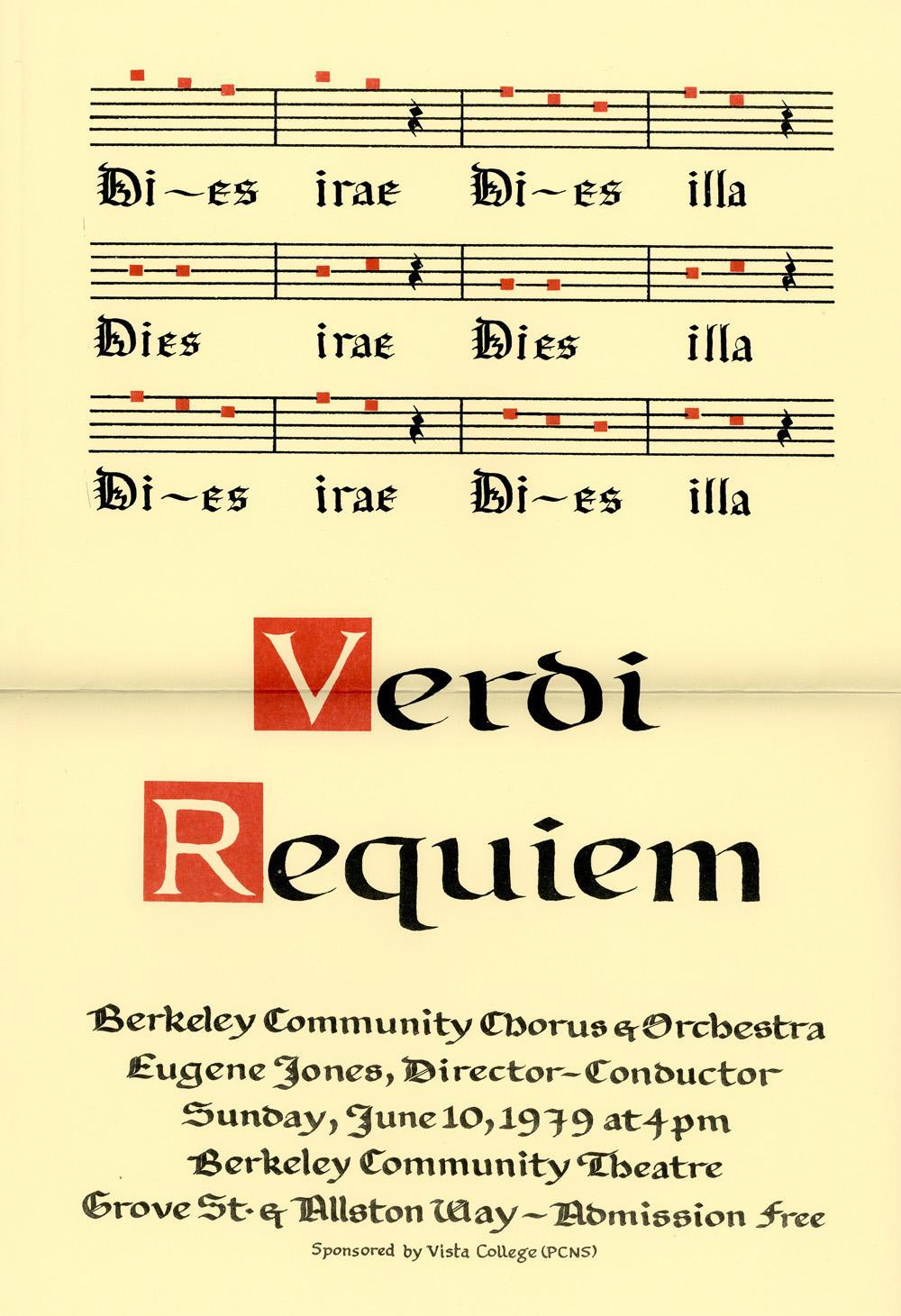 verdi requiem essay Giuseppe verdi messa da requiem i requiem and kyrie requiem aeternam dona eis, domine: et lux perpetua luceat eis te decet hymnus, deus, in sion, et tibi reddetur.