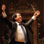 Ming Luke conducts Elijah during BCCO's Spring 2014 season. Photo by Bill Hocker.