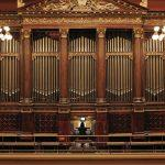 Accompanist Heather Pinkham at the Rudolfinum Organ