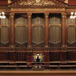 Accompanist Heather Pinkham at the Rudolfinum Organ