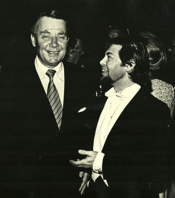 Photo of Robert Shaw and Joe Liebling