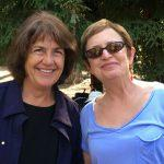 Deb Golata and Karen Davison at the 50th Kickoff Picnic