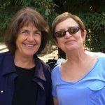 Deb Golata and Karen Davison at the 50th Kickoff Picnic
