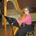 Harpist Emily Laurance