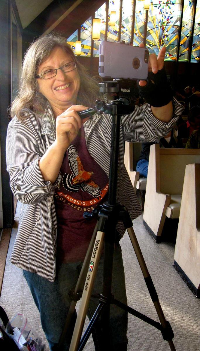 NancyBehindCamera