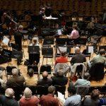 The chorus prepares for the spring 2015 performance of Verdi's Requiem. Photo by Bill Hocker