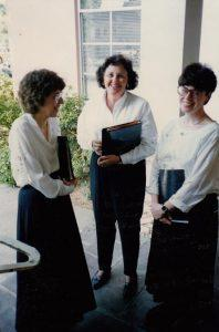 Monica Clark, Carole Jones, and Kitty Lindow