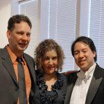 Kurt Erickson, Heidi Moss, and Ming Luke. Photo by Bill Hocker