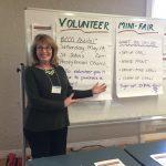 Julie Fryckman coordinates volunteers for BCCO's many tasks