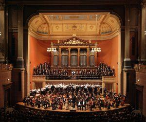 Photo of BCCO at the Rudolfinum in Prague