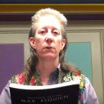 Nancy Benson reads Anthem for Doomed Youth by Wilfred Owen