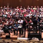 Brian Thorsett and Efraín Solís rehearse for the War Requiem