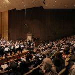 Photo by Bill Hocker; BCCO War Requiem performance at Hertz Hall