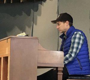 Jason Sherbundy, BCCO accompanist. Photo by Nancy Brink