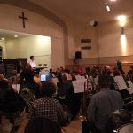 BCCO rehearses at FCCB, before the fire.