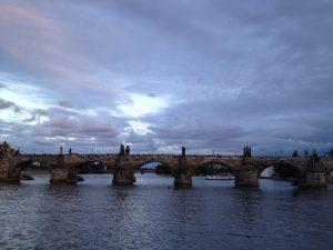 St. Charles Bridge, Prague. Photo by Nancy Sue Brink
