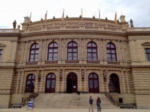 Rudolfinum, Prague. Photo by Nancy Sue Brink
