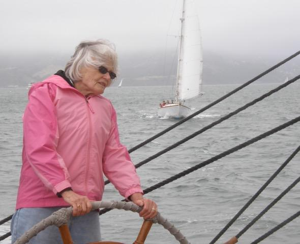 Betty Pigford, BCCO alto, at the helm