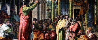 St Paul Preaching, by Raphael