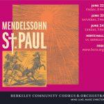 What Happened to Saul: Mendelssohn and the St. Paul Oratorio