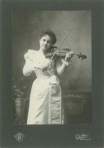 Charlotte Demuth Williams at 16