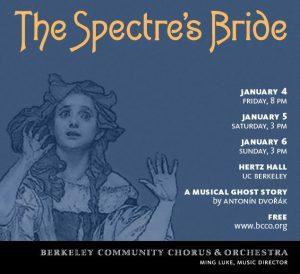Poster for Dvorak, Spectre's Bride. Art by Kris Kargo