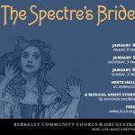 Poster for Dvorak, Spectre's Bride. Art by Kris Kargo