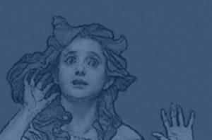 Dvorak, the Spectre's Bride, poster detail.