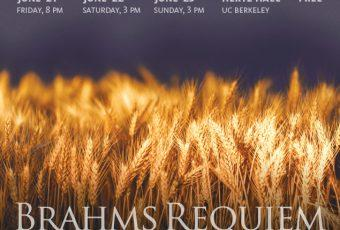 Poster by Kris Kargo for Brahms Requiem