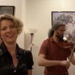 Megan Berti mezzo-soprano and René Salazar, viola